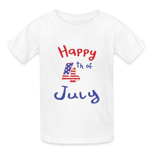 happy 4th of July - Kids' T-Shirt