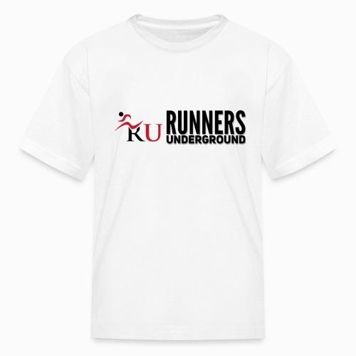 Runners Underground Logo BLK - Kids' T-Shirt