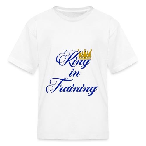 King in Training - Kids' T-Shirt