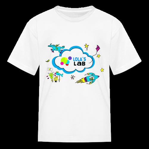 Lola's Lab illustrated logo tee - Kids' T-Shirt