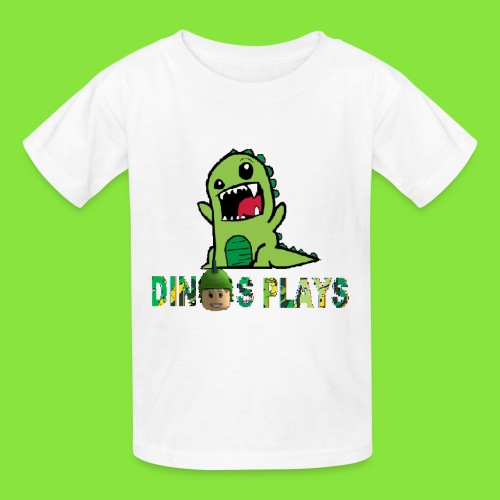 dinos plays - Kids' T-Shirt