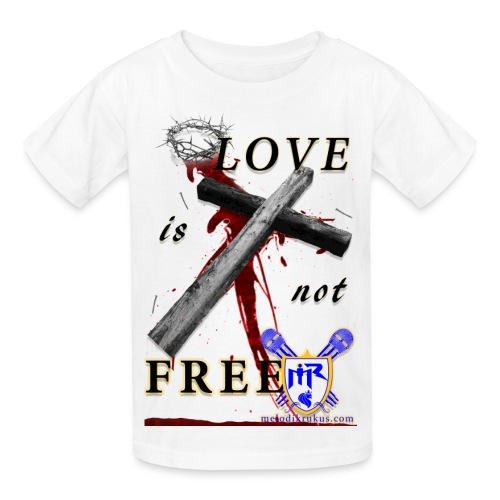 LoveIsNotFree - Kids' T-Shirt