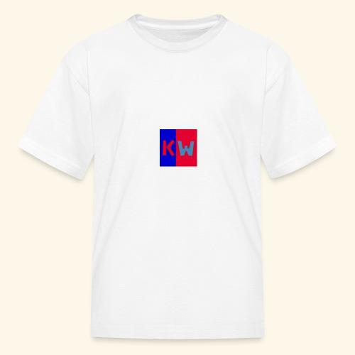 Kalani wipou logo shirt - Kids' T-Shirt