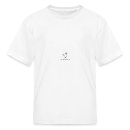 Logo Trại gà Tú Martin - Kids' T-Shirt