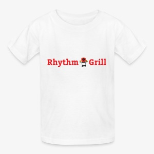 Rhythm Grill word logo - Kids' T-Shirt