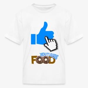 La nourriture de Youtuber - T-shirt classique pour enfants