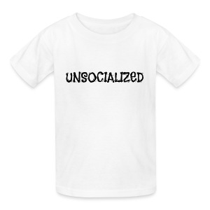 Unsocialized - Kids' T-Shirt