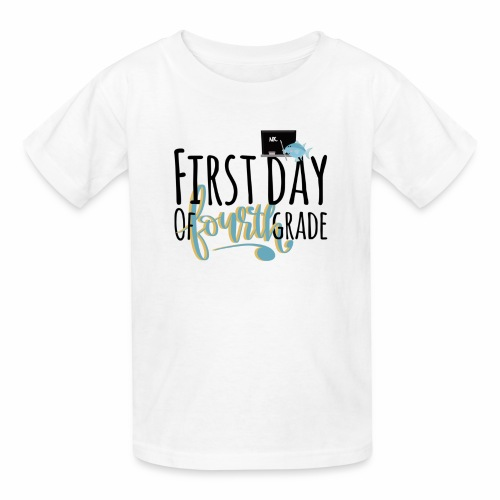 First Day of Fourth Grade - Kids' T-Shirt