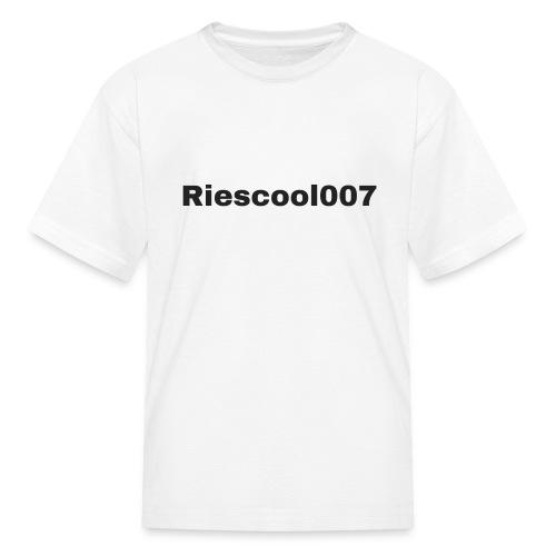 Riescool007 Merch - Kids' T-Shirt