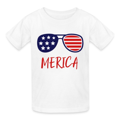 Merica Shirt - USA merica woman shirt -Merica 1255 - Kids' T-Shirt