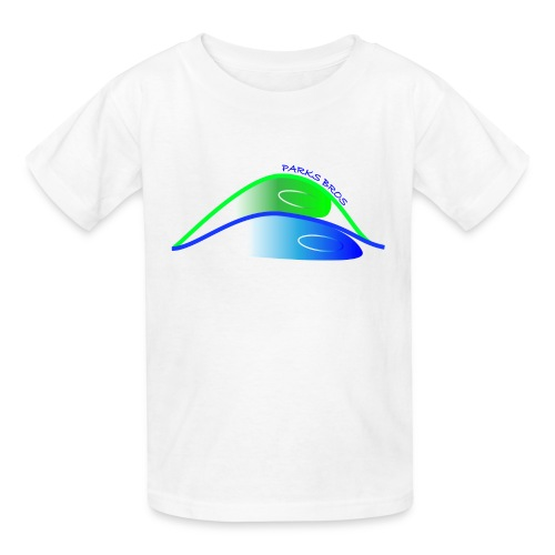 Parks Bros Logo w/ Words - Kids' T-Shirt