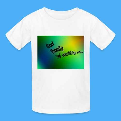 God Family And Everything Else - Kids' T-Shirt