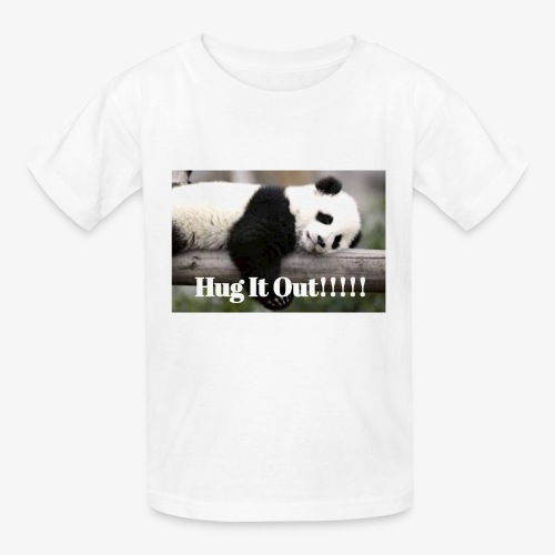 Hug It out Panda Merch - Kids' T-Shirt