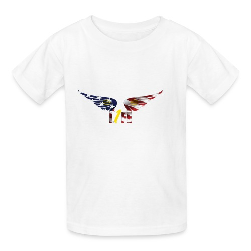 Patriotic1LifeLogo - Kids' T-Shirt