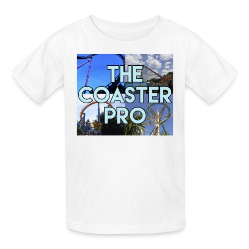 The Coaster Pro 4 Coaster Logo - Kids' T-Shirt