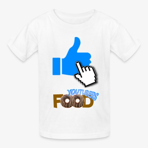 Youtuber's Food - Kids' T-Shirt
