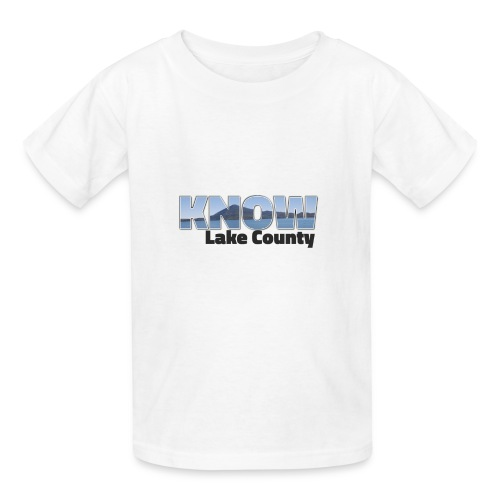 Know Lake County - Kids' T-Shirt