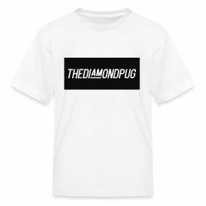TheDiamondPug Rectangle - Kids' T-Shirt