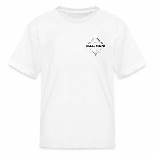 Anything But Golf Logo - Kids' T-Shirt