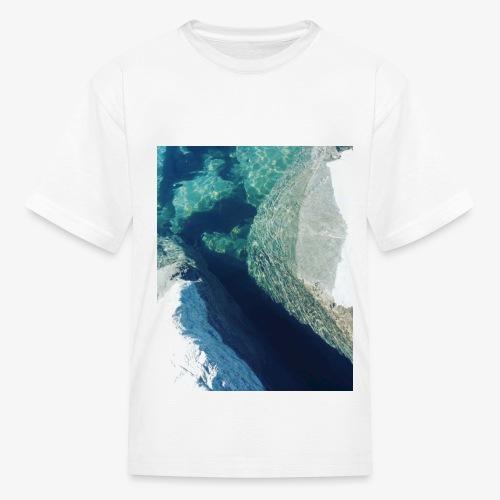 Rock underwater in New Zealand - Kids' T-Shirt