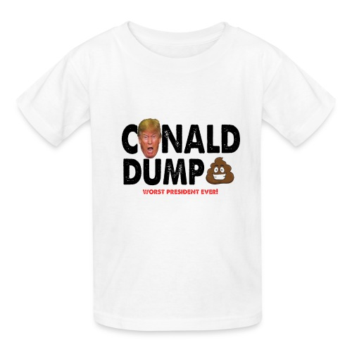 Conald Dump Worst President Ever - Kids' T-Shirt