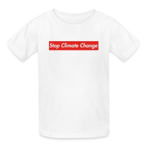 Stop Climate Change - Kids' T-Shirt