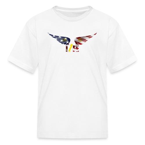Patriotic1LifeLogo - Kids' T-Shirt