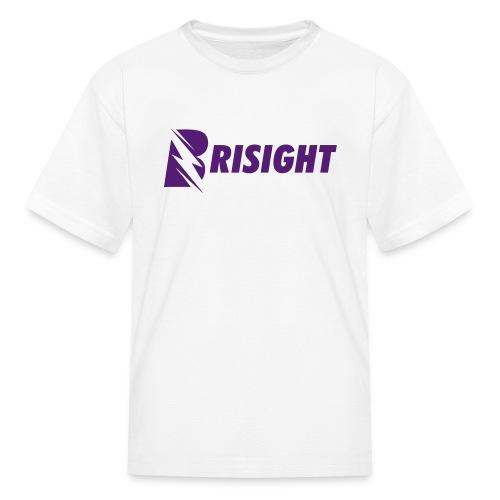 BRISIGHT CLASSIC PURPLE TEXT - Kids' T-Shirt