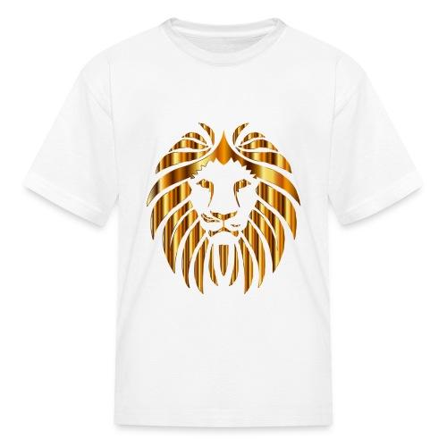 Gold Lion Design - Kids' T-Shirt