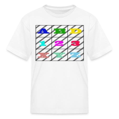 kids abc teaching - Kids' T-Shirt