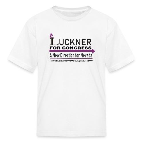 Luckner for Congress - Kids' T-Shirt