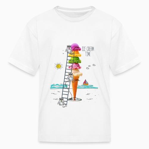 ICE CREAM TIME 01 - Kids' T-Shirt