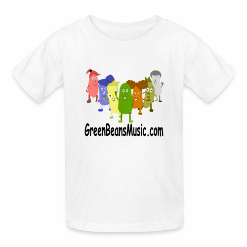 Green Bean's Music Apparel Black Logo - Kids' T-Shirt