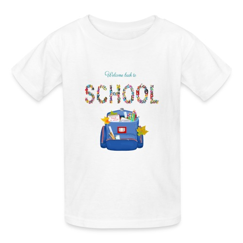 welcome back to school kids 2019 - Kids' T-Shirt