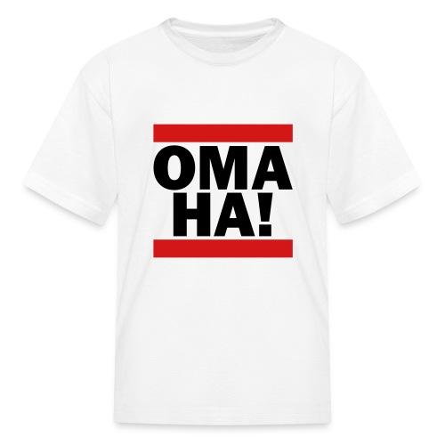 OMAHA Logo Shirt - Kids' T-Shirt