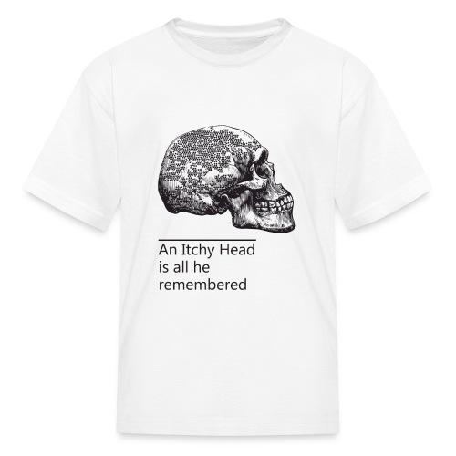 skull holes - Kids' T-Shirt