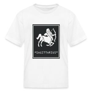 Sagittarius Zodiac Symbol - Kids' T-Shirt
