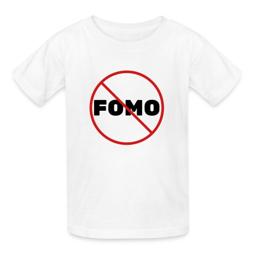 FOMO Prohibited - Kids' T-Shirt
