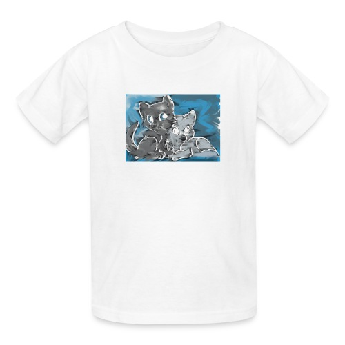 Wolf Family - Kids' T-Shirt