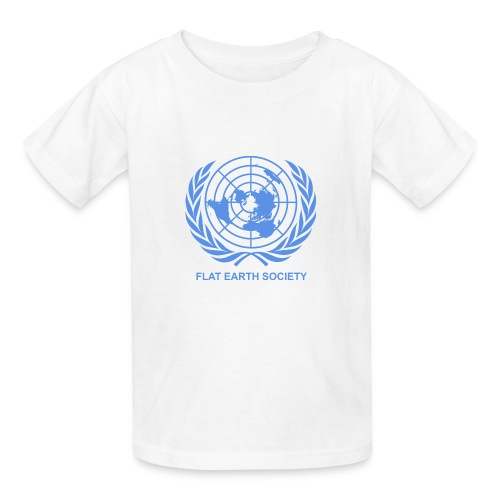 Flat Earth Society - Kids' T-Shirt