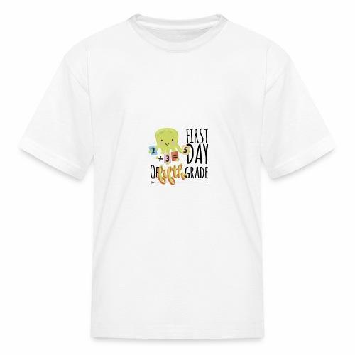 First Day of Fifth Grade - Kids' T-Shirt