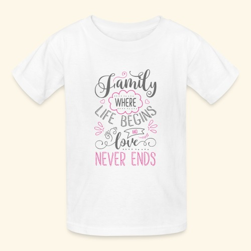 FAMILY` - Kids' T-Shirt
