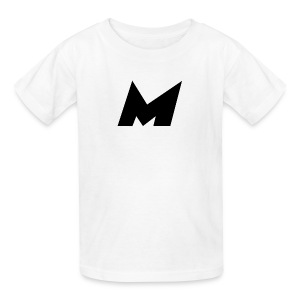 Official Black Mystic Logo (M Letter Logo) - Kids' T-Shirt