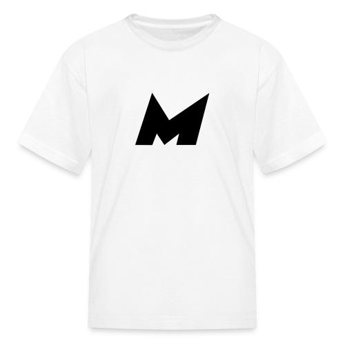 Official Black Mystic Logo (M Letter Logo) - Kids' T-Shirt
