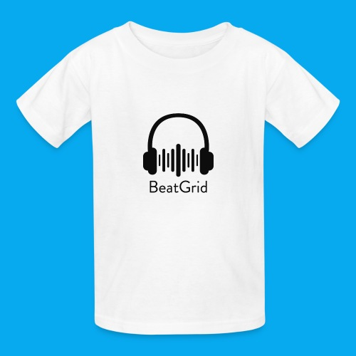 BeatGrid Classic Black Logo - Kids' T-Shirt