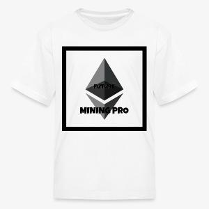 Future Ethereum Mining Pro - Kids' T-Shirt