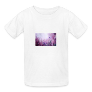 Life's field of flowers - Kids' T-Shirt