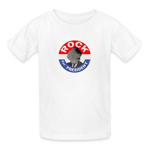 ROCK FOR PRESIDENT - Kids' T-Shirt