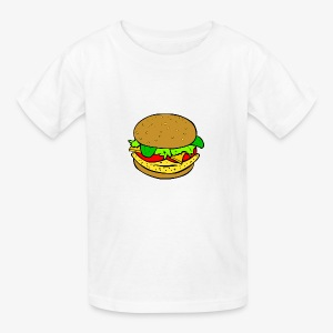 Comic Burger - Kids' T-Shirt