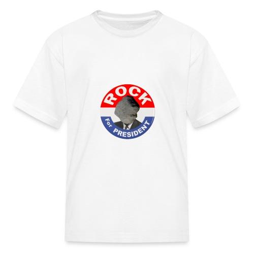 ROCK FOR PRESIDENT - Kids' T-Shirt